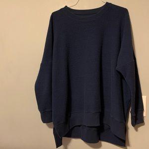 Aerie Hometown Sweatshirt in Navy